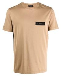 Dondup Logo Patch Cotton T Shirt