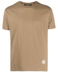 Tagliatore Logo Print Pocket T Shirt