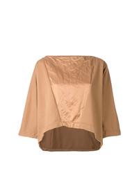 Andrea Ya'aqov Panelled Boxy T Shirt