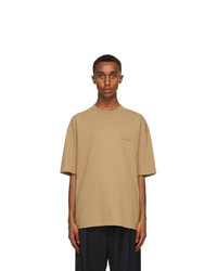 Balenciaga Tan Bb Medium Fit T Shirt