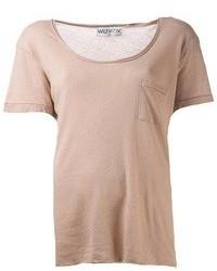 Wildfox Couture Wildfox Basic Pocket T Shirt
