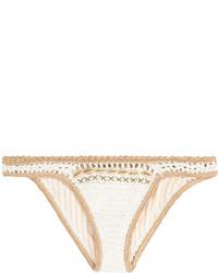 Crochet bikini bottoms with shells medium 728748