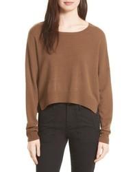 Vince Crop Cashmere Sweater