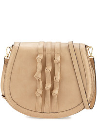 Neiman Marcus Accordion Knotted Saddle Bag