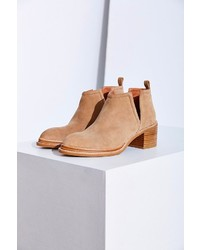 058b7f9e839ee Tan Cutout Suede Ankle Boots for Women | Women's Fashion | Lookastic.com