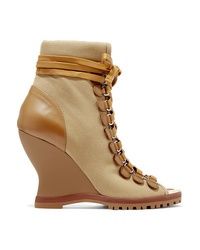1e330a1a Women's Tan Suede Ankle Boots by Chloé | Women's Fashion | Lookastic.com