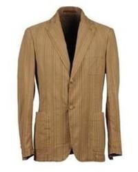 how to wear a tan blazer