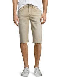 True Religion Geno Overdye Active Slim Fit Denim Shorts