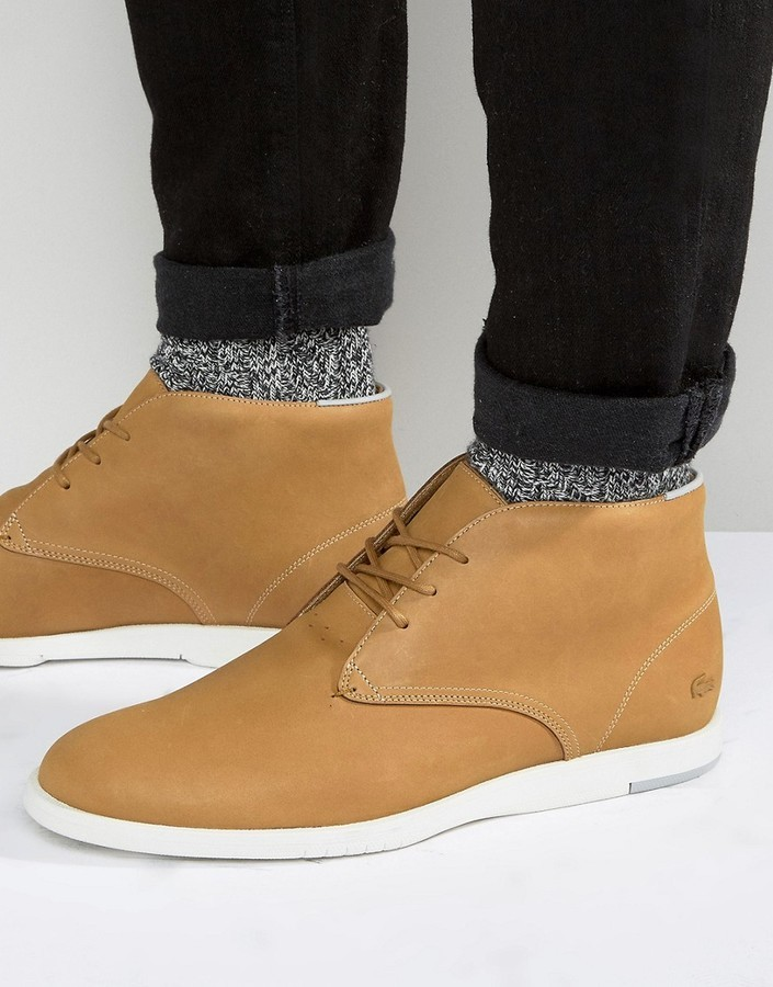 lacoste desert boots - 65% OFF
