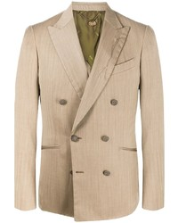 Maurizio Miri Double Breasted Fitted Blazer