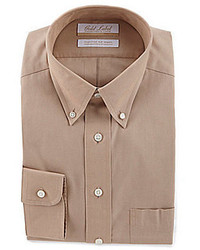 Gold Label Roundtree Yorke Full Fit Button Down Collar Dress Shirt