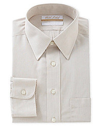Gold Label Roundtree Yorke Regular Fit Point Collar Dress Shirt
