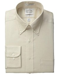 Eagle Regular Fit Non Iron Pinpoint Solid Dress Shirt