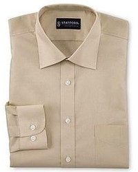 jcpenney Stafford Easy Care Broadcloth Dress Shirt