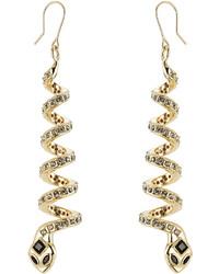 Alberta Ferretti Embellished Earrings