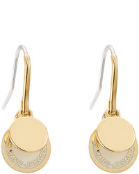Marc Jacobs Logo Charm Earrings