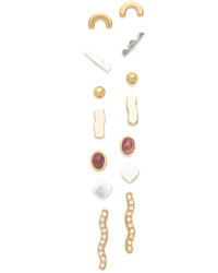 Madewell Mixed Stud Earring Set