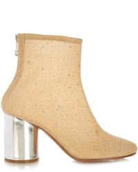 Maison Margiela Glitter Embellished Ankle Boots