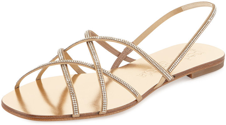 Pedro Garcia Crystal embellished sandals