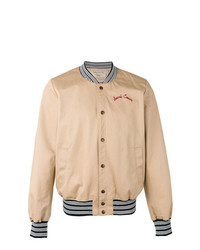 MAISON KITSUNÉ Maison Kitsun Rear Embroidered Bomber Jacket