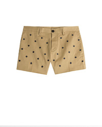 DSQUARED2 Embroidered Cotton Shorts