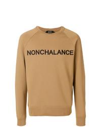 N°21 N21 Nonchalance Embroidered Sweatshirt