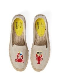 X mary matson lobster crab platform espadrille medium 4354067