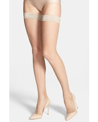 Oroblu Bas Tricot Fishnet Stay Up Stockings