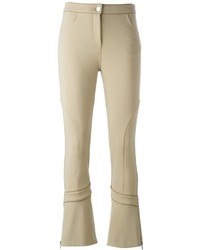 Tan flare pants original 11348794