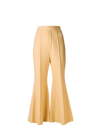Chloé Cropped Flared Tailored Trousers