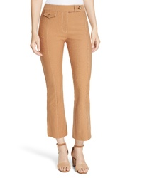 Derek Lam 10 Crosby Flare Leg Crop Trousers