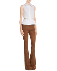 Sly 010 Sly010 Suede Flared Pants