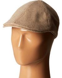Tan Flat Cap
