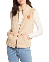 Roxy Faux Shearling Vest
