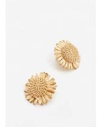 Mango Floral Earrings