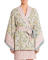 Liberty multi print floral short kimono medium 315220