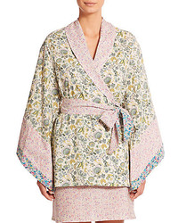 Liberty Multi Print Floral Short Kimono