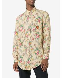 f21613095f04 Gucci Floral Print Long Sleeve Shirt, $841 | farfetch.com ...
