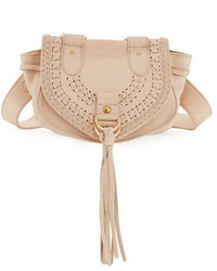 Collins fringe leather saddle bag medium 3995153