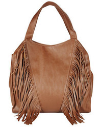 Kensie Fringed Faux Leather Tote