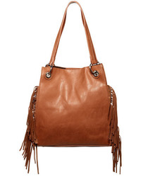 Urban Originals Fringed Wonder Faux Leather Tote