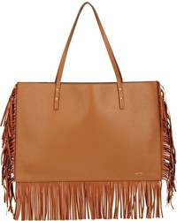 Maiyet Fringed Sia Tote Colorless