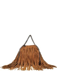 Stella McCartney Mini Tote Falabella Fringe Bag