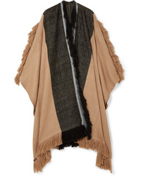 MELT Raju Fringed Yak And Camel Hair Blend Wrap