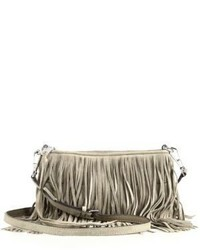 Finn fringed convertible suede crossbody bag medium 523293