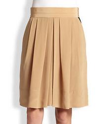 Amos silk pleated skirt medium 42476