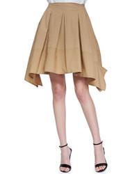 Donna Karan Full Pleated Scarf Skirt
