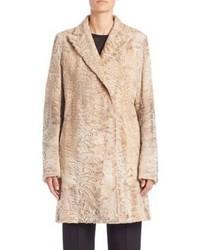 The Row Brotan Shearling Coat