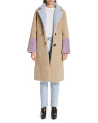 Saks Potts Febbe Closure Genuine Shearling Coat