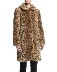 Kinsley faux fur oversized long coat medium 5360052